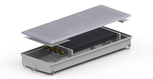 Внутрипольный конвектор Carrera C2 Hydro 90
