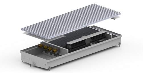 Внутрипольный конвектор Carrera CV2 Hydro 90