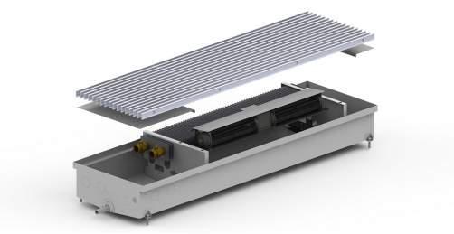 Внутрипольный конвектор Carrera CV Hydro 120