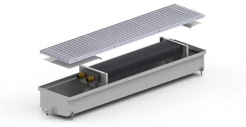 Внутрипольный конвектор Carrera C Hydro 120