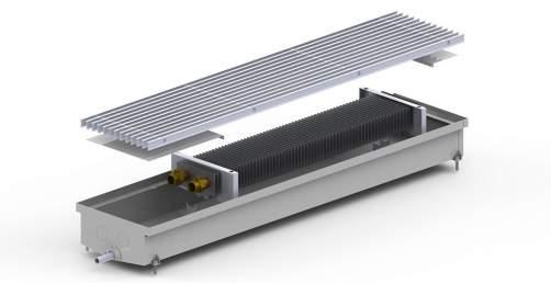 Внутрипольный конвектор Carrera C Hydro 90