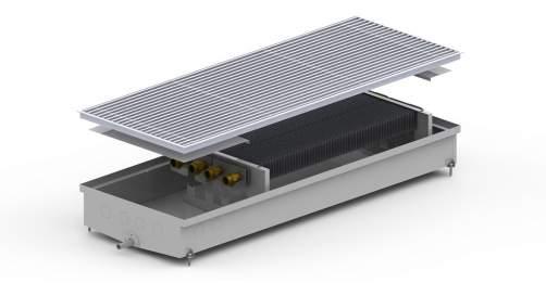 Внутрипольный конвектор Carrera S2 Hydro 120