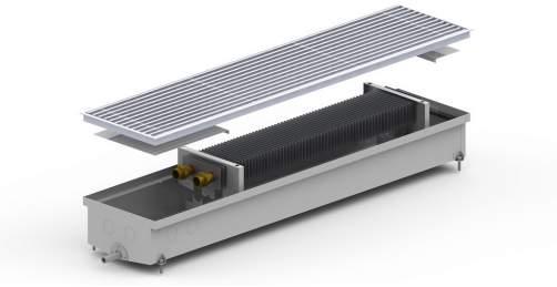 Внутрипольный конвектор Carrera S Hydro 120