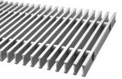 Металлическая решетка Carrera металл поперечная для внутрипольных конвекторов